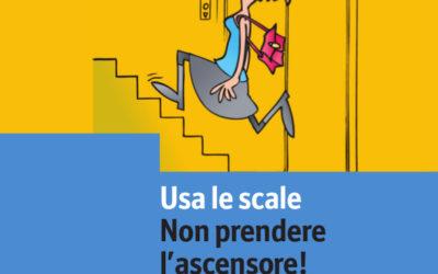 Usa le scale!